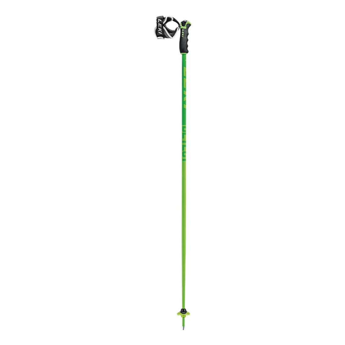 Leki Detect S Ski Poles - Green