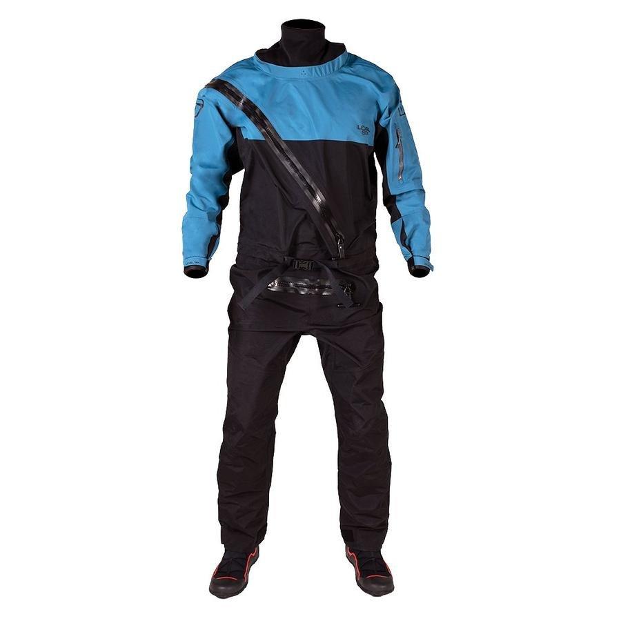 Level Six Cronos Front Entry Dry Suit - Crater Blue