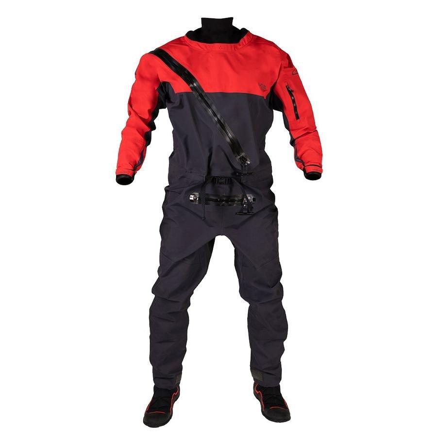 Level Six Cronos Front Entry Dry Suit - Molten Lava