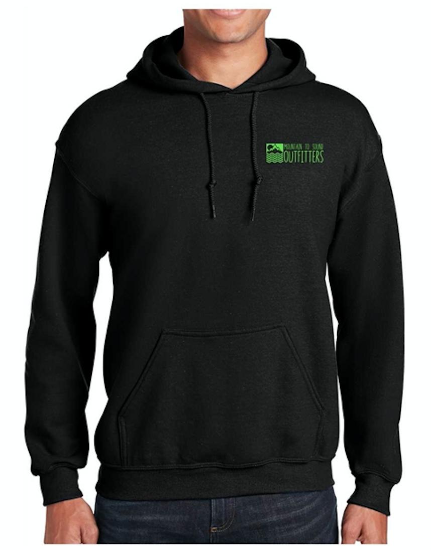 M2S Logo Hoodie - Black