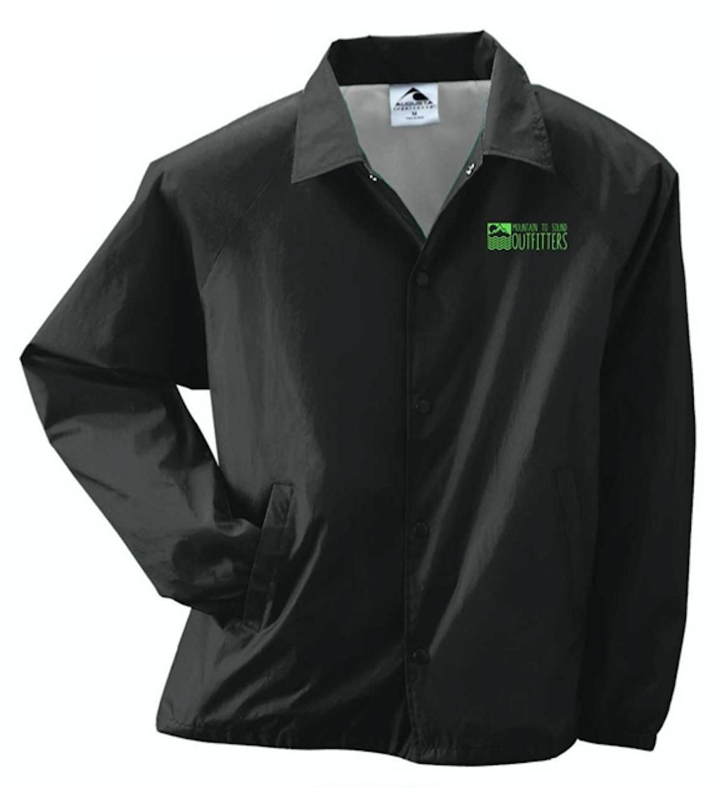 M2S Logo Jacket - Black