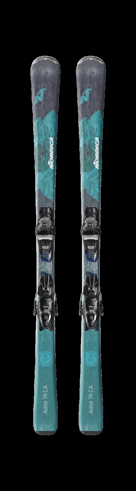 Nordica Astal 74 CA Skis w/ Bindings