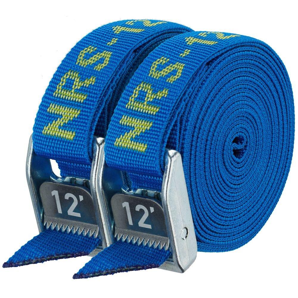 NRS 1 HD Tie-Down Straps - Pair / Icon Blue (12' Length)