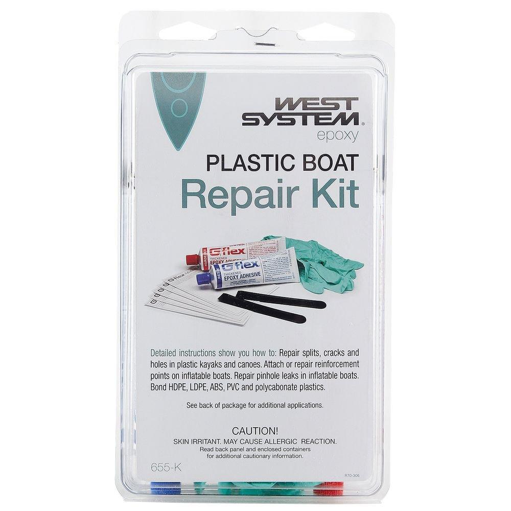 NRS G/flex 655-K Plastic Boat Repair Kit