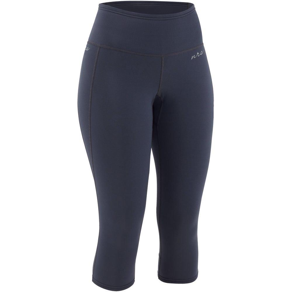 NRS Women's HydroSkin 0.5 Capris Pants - Dark Shadow