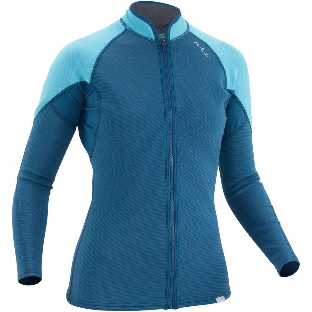 NRS Women's HydroSkin 0.5 Jacket - Poseidon