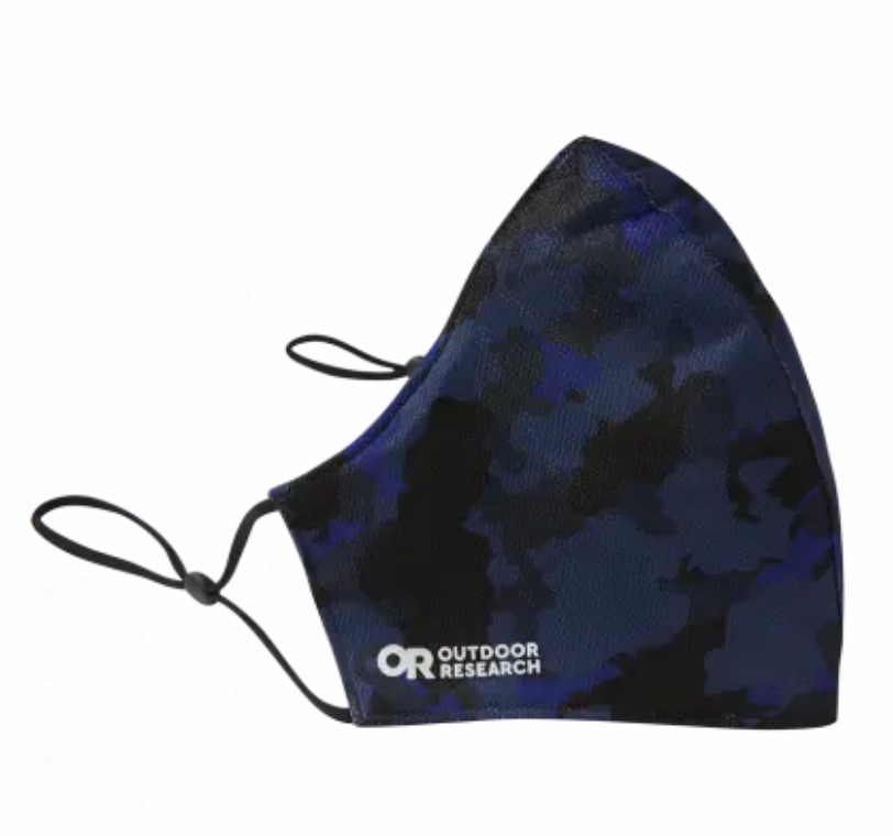 Outdoor Research Essential Face Mask Kit - Naval Blue Camo
