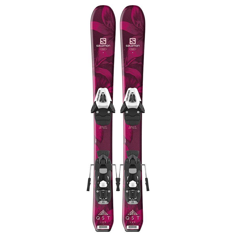 Salomon E QST Lux Jr XS Ski w/ C5 Binding