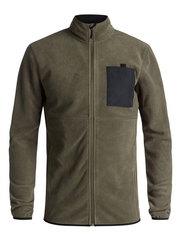 Quiksilver Men's Butter Technical Zip-Up Fleece