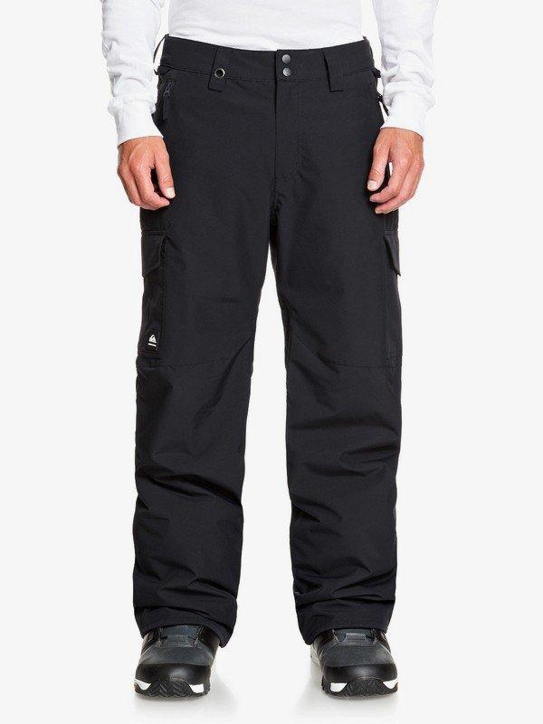 Quiksilver Porter Snow Pants - True Black