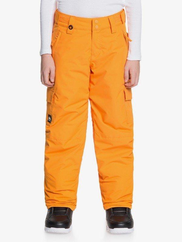 Quiksilver Porter Youth Snow Pants - Flame Orange