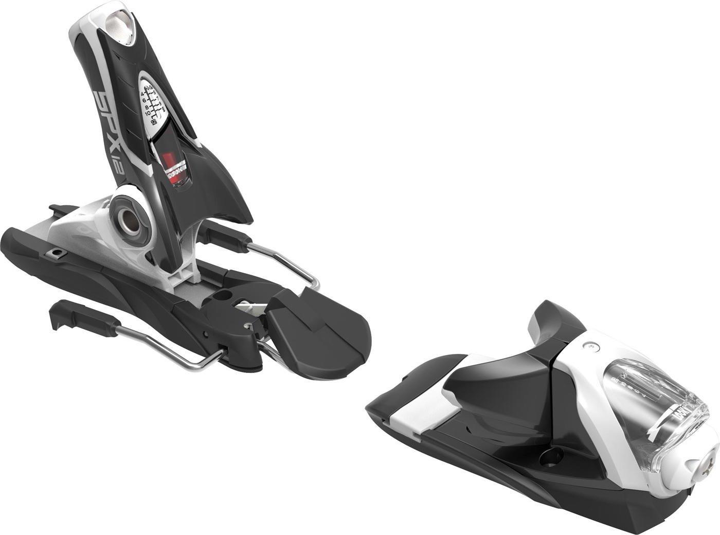 Rossignol Axial 3 120 Dual WTR Black//White B100 Ski Bindings