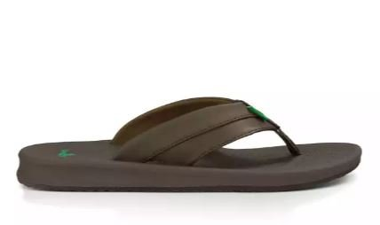 Sanuk Men's Brumeister Sandals - Brown