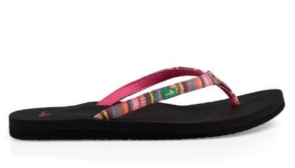 Sanuk Women's Yoga Joy Funk Sandals - Cabaret Kauai Blanket