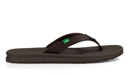 Sanuk Yoga Mat Wander Sandals - Brown