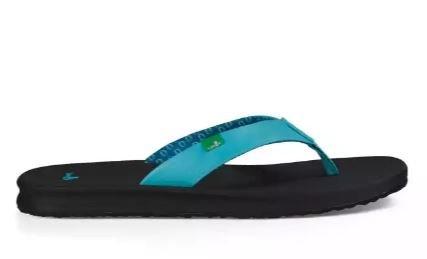 Sanuk Yoga Mat Wander Sandals - Opal