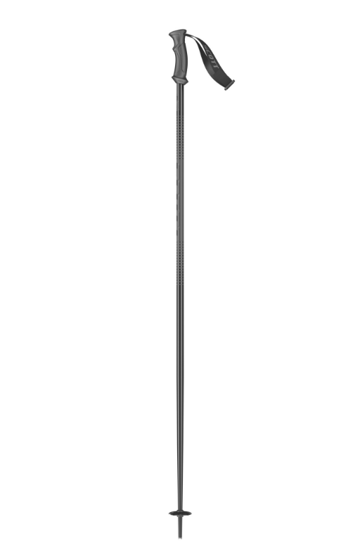 SCOTT 540 P-Lite Black Poles - Black