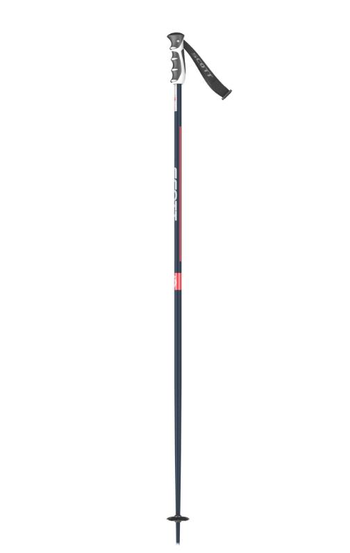 SCOTT Sun Valley Ski Poles - Retro Blue/Red