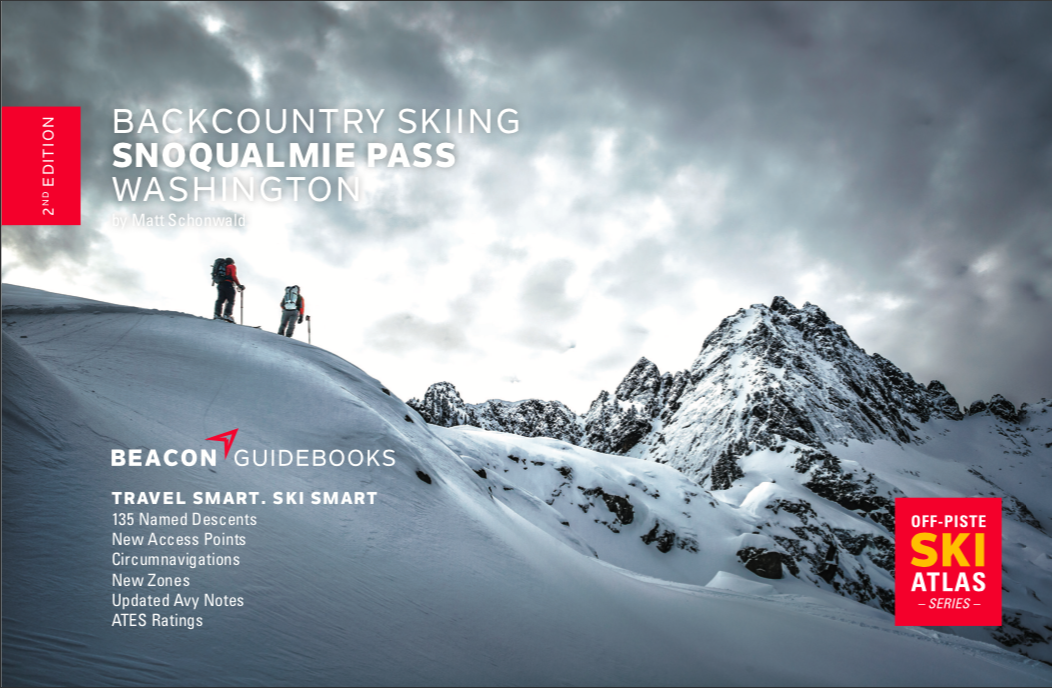 Off-Piste Ski Atlas / Guide :: Backcountry Skiing Snoqualmie Pass Washington, 2nd Edition