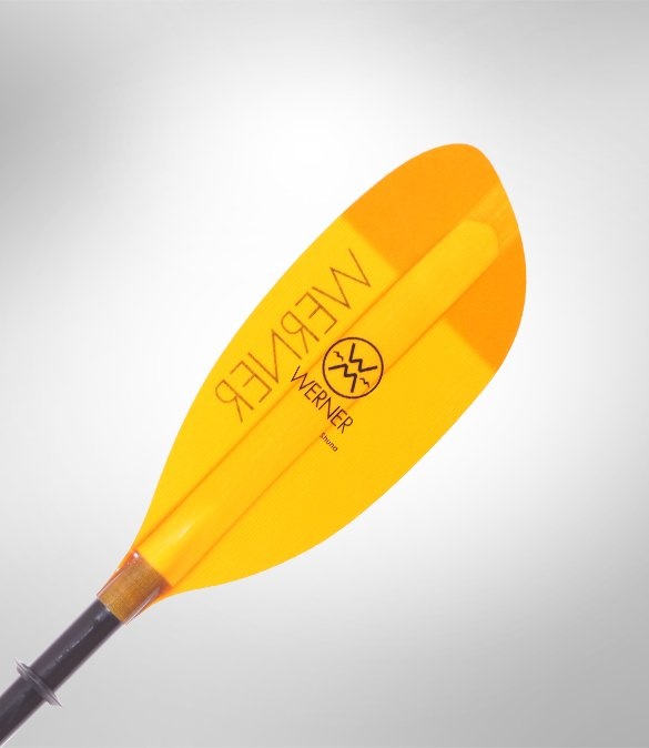 Werner Shuna Straight Two-Piece Kayak Paddle