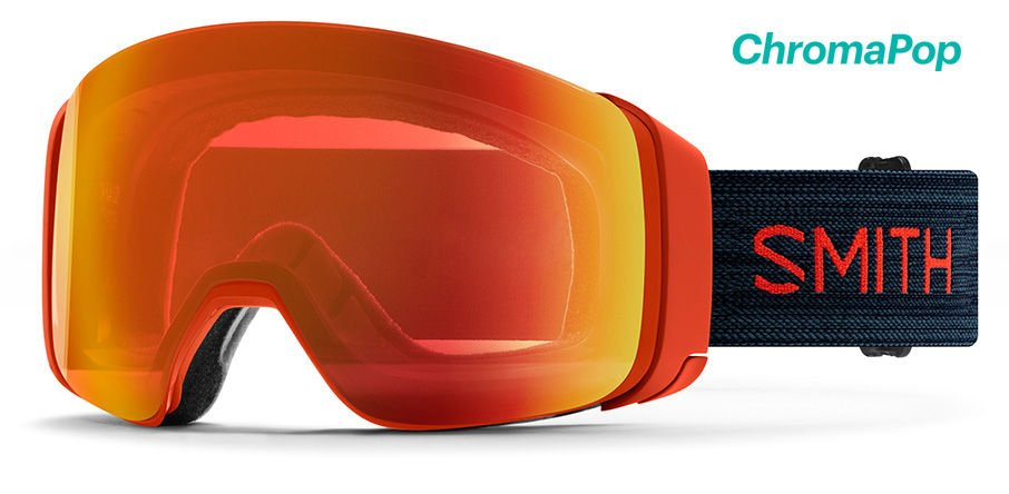 Smith 4D MAG Snow Goggles - Red Rock / CPE Red Mirror