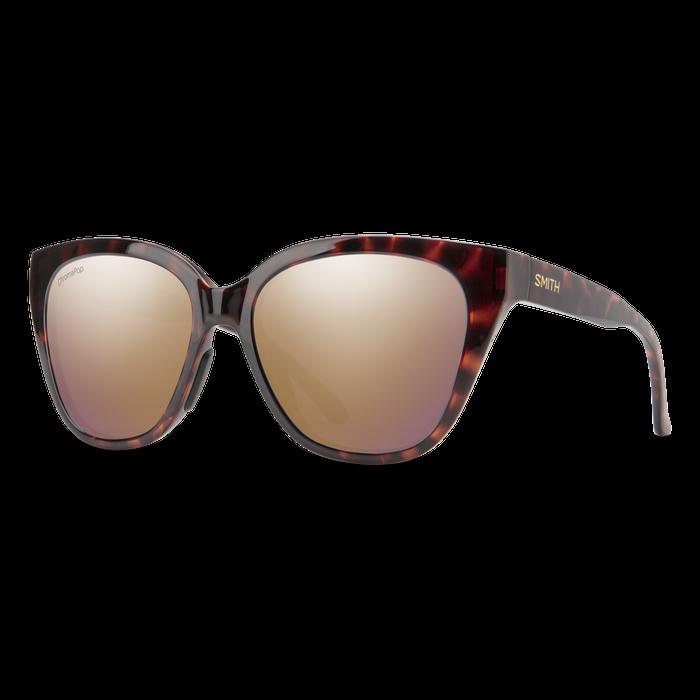 Smith Era Sunglasses - Tortoise / CP Polarized Rose Gold Mirror