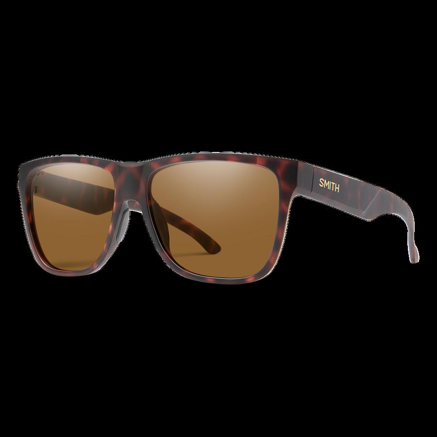 Smith Lowdown 2 XL Sunglasses - Matte Tortoise / CP Polarized Brown