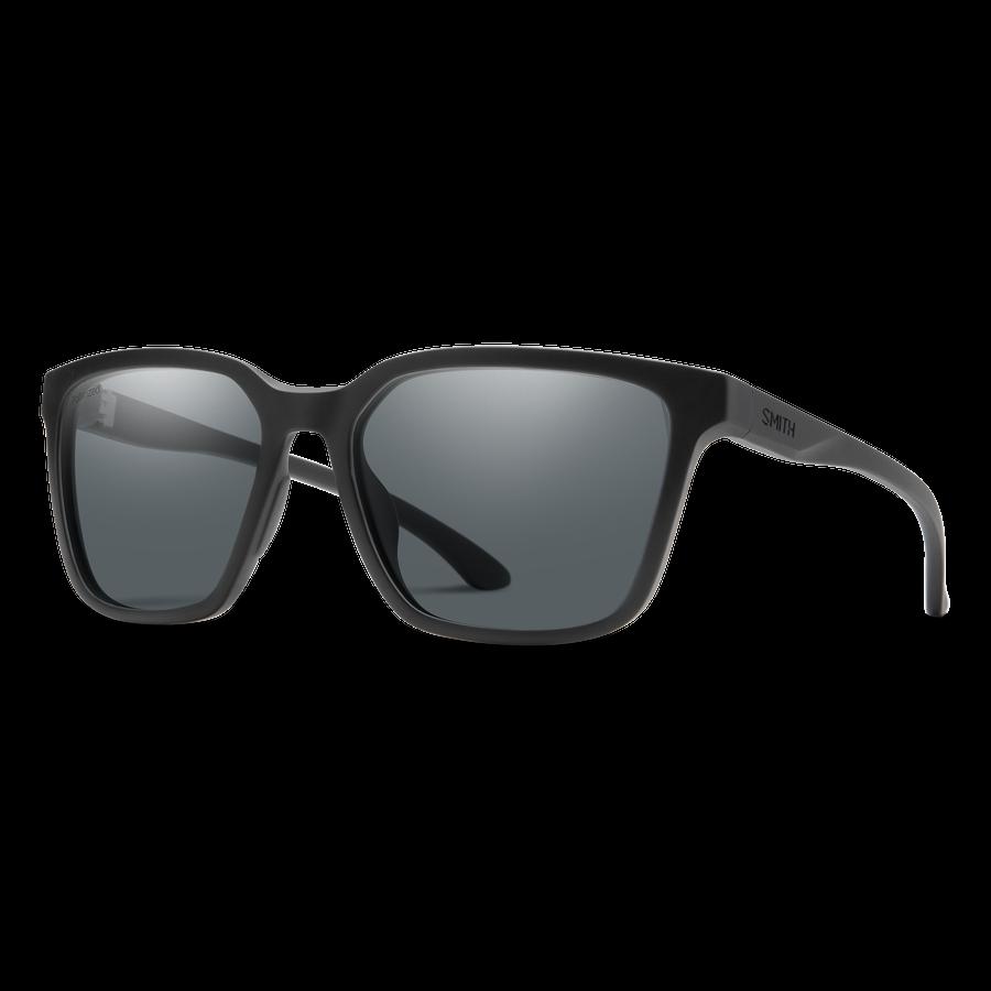 Smith Shoutout CORE Sunglasses - Matte Black / Polarized Grey