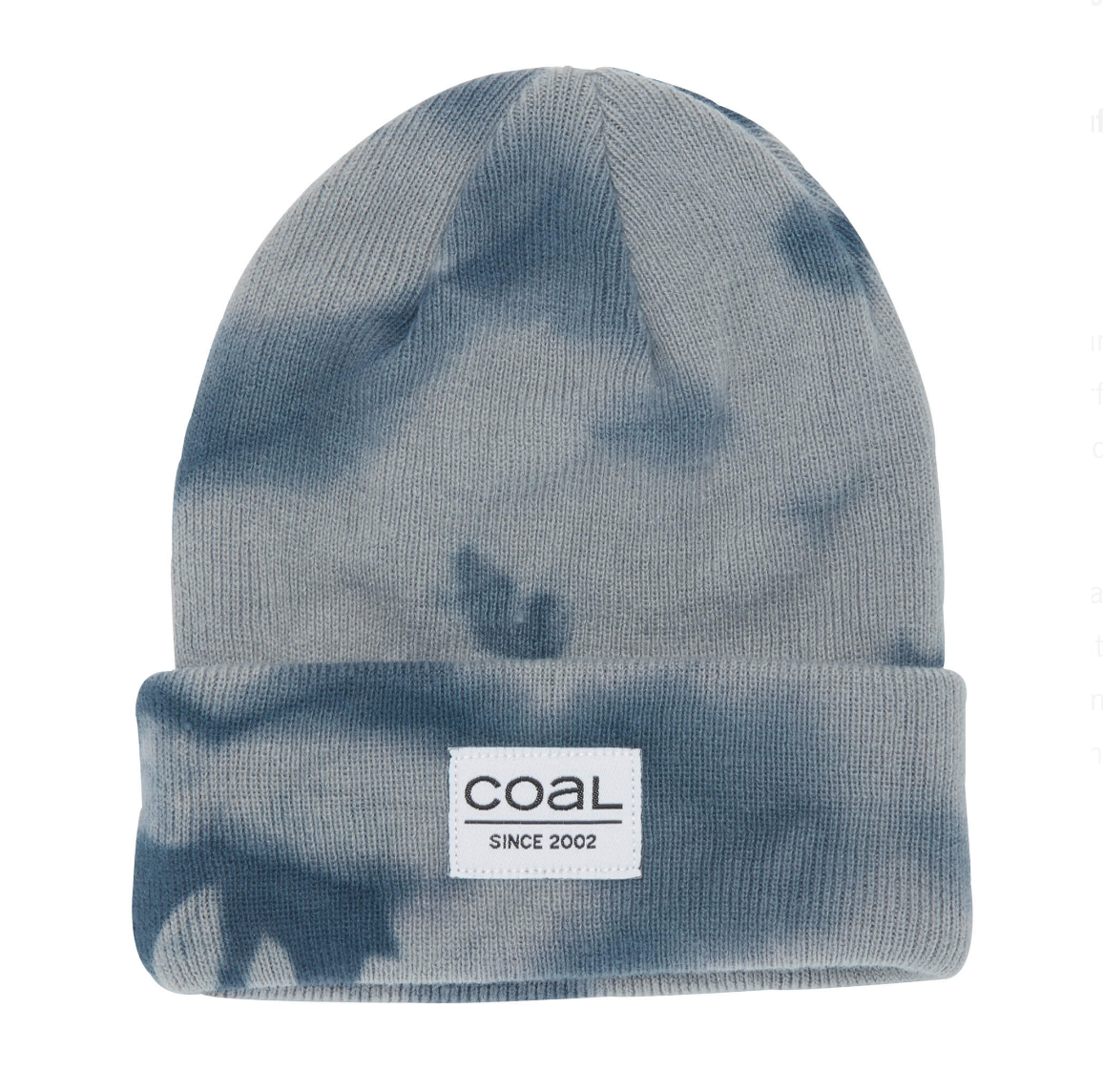 Coal The Standard Kids Cuffed Beanie - Grey Tie Dye