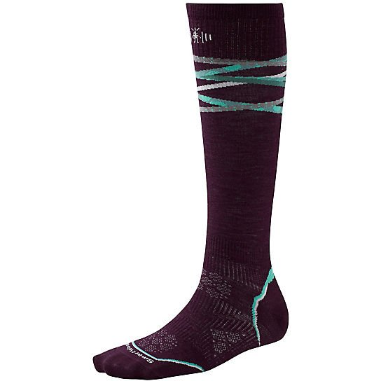 W's PhD Ski UL Pattern Socks