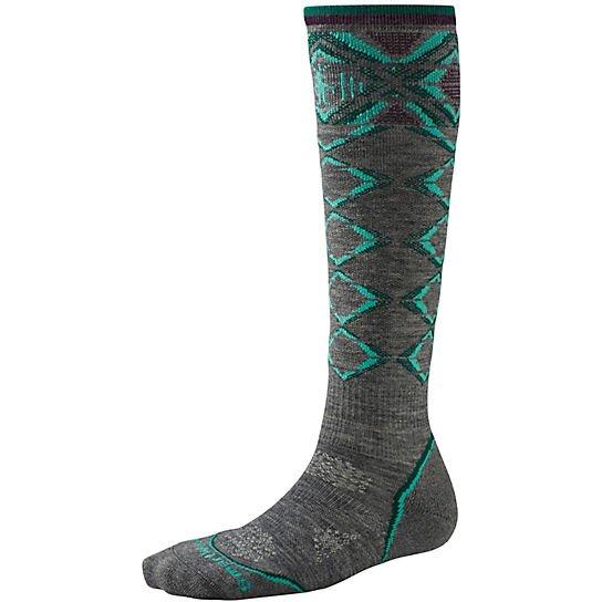 W's PhD Ski Light Pattern Socks