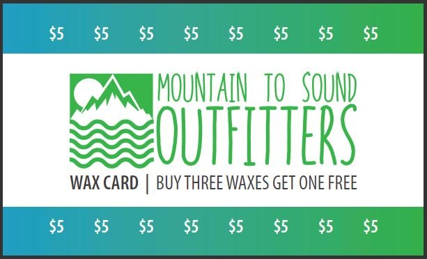 Discount Wax Card (Buy 3, Get 1 Free)