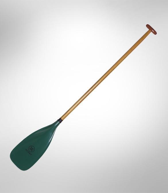 Werner Journey 1-Piece Wood Straight Shaft Canoe Paddle