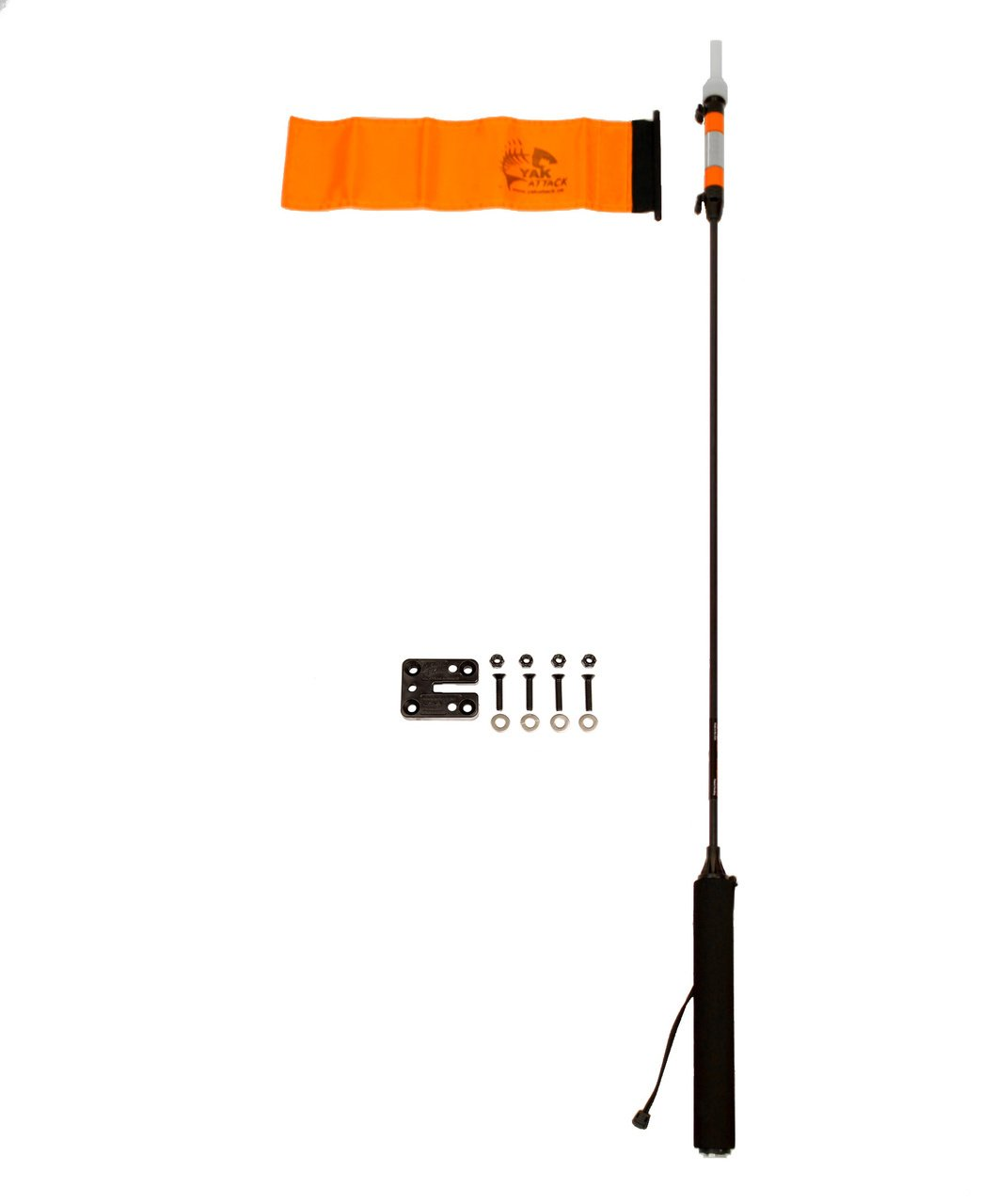 YakAttack VISIPole II with Flag & Mighty Mount