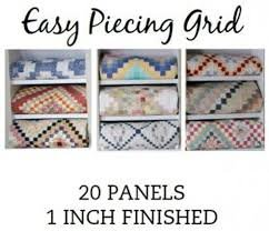 Easy Piecing Grid - 20 Panels - 1 Finished