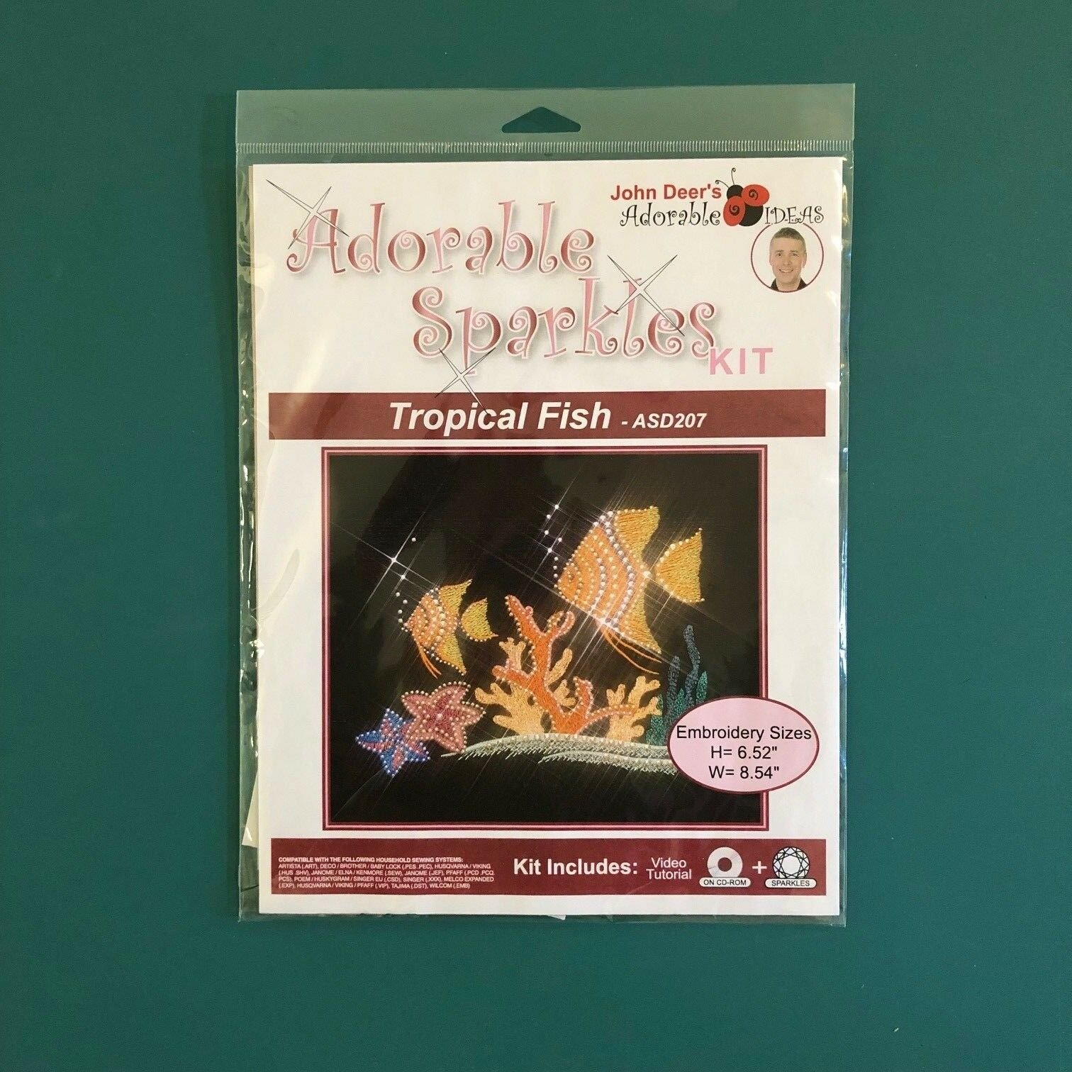 Adorable Sparkles Kit - Tropical Fish