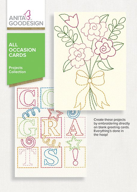 Anita Goodesign All Occasion Cards (Embroidery CD)