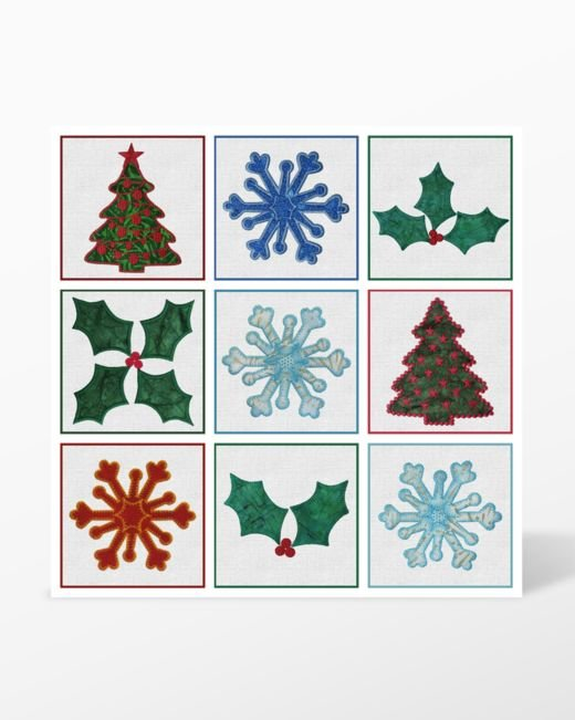 Accuquilt GO! Embroidery Designs CD - Holiday Medley