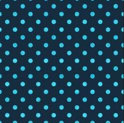 Blue Belle- Shiny Objects- Spot On- Navy Metallic