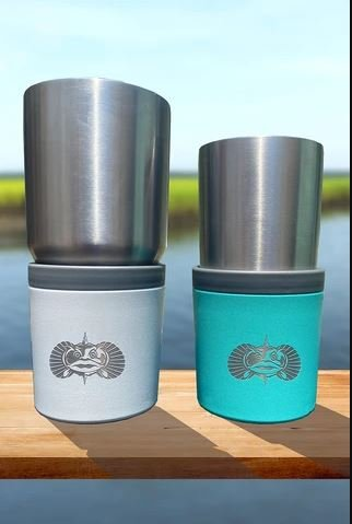 Toadfish Anchor Non-Tipping Cup Holder - Teal