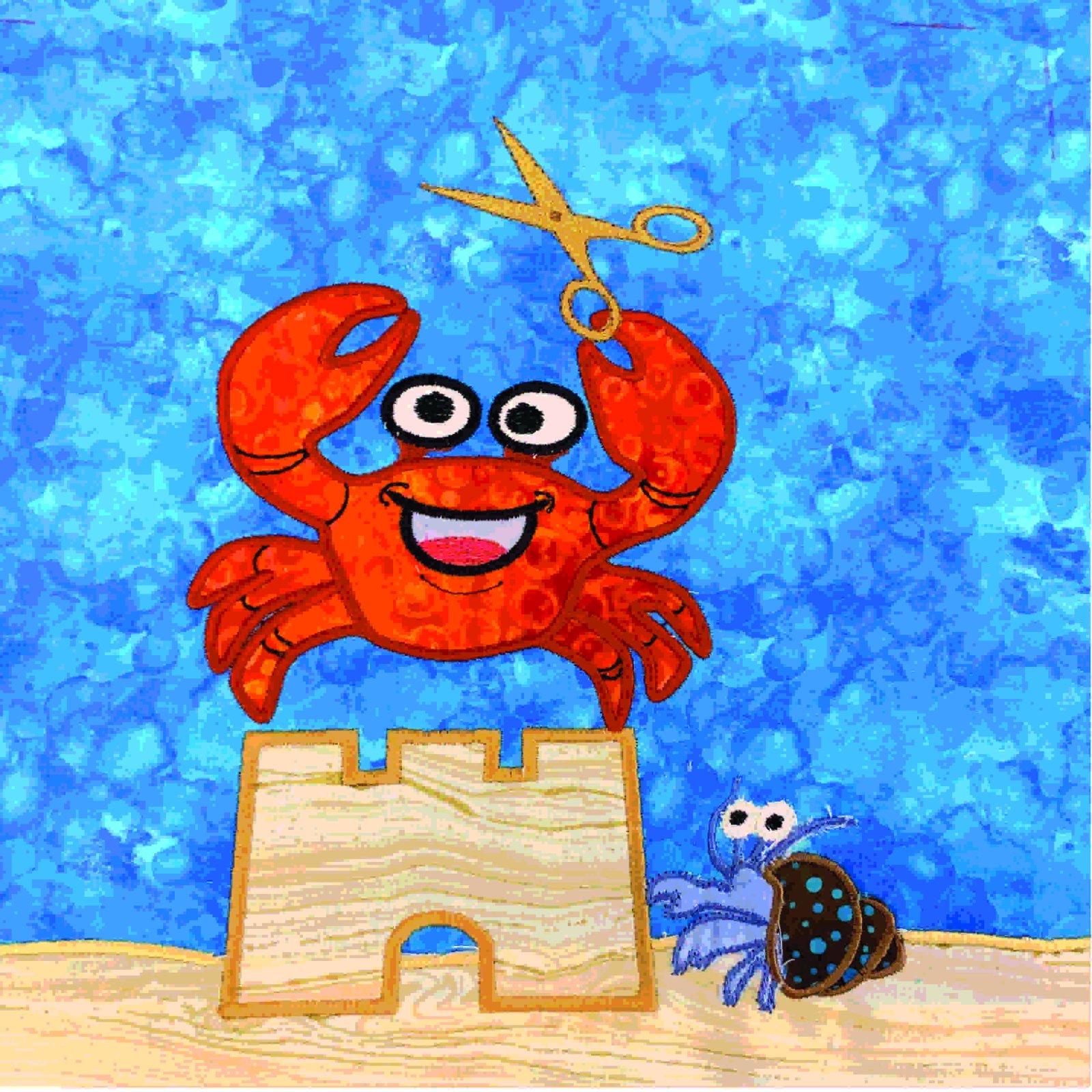 2020 Shop Hop Block-Crab Block -HUS Format