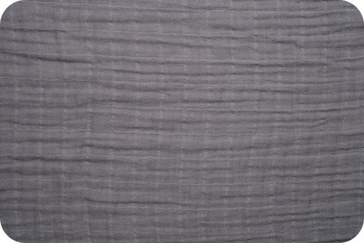 Shannon Fabrics Embrace - Graphite Solid