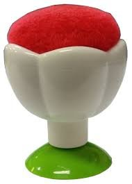 Tulip Pin Cushion with Suction Cup