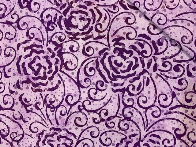 Batik by Mirah-Venetian Plum VT-12 Color 5871