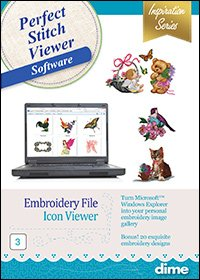 DIME Perfect Stitch Viewer Software (CD)