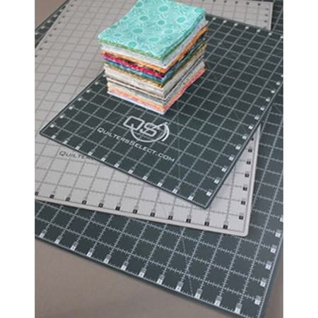 Quilters Select 12In x 18In Cutting Mat - Self Healing/Dual Side