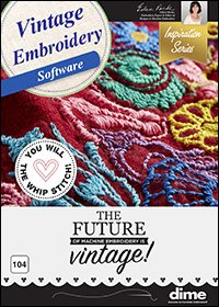 DIME Vintage Embroidery Software (CD)