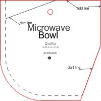 Easy Microwave Bowl Template