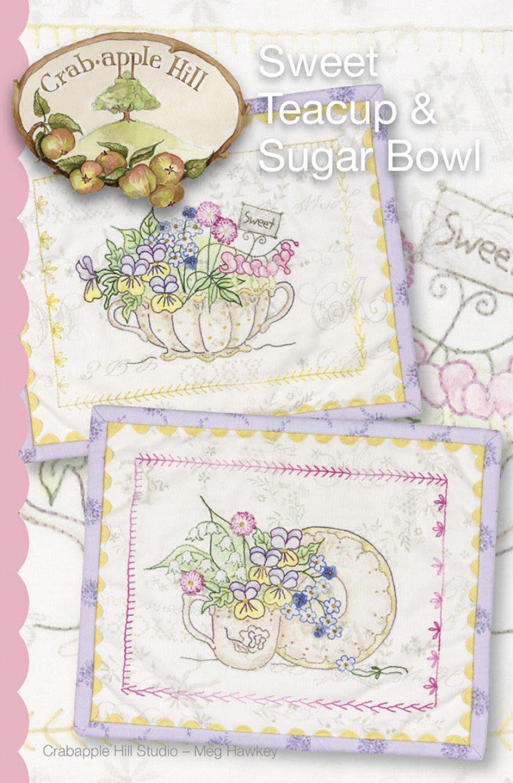 Sweet Teacup and Sugar Bowl