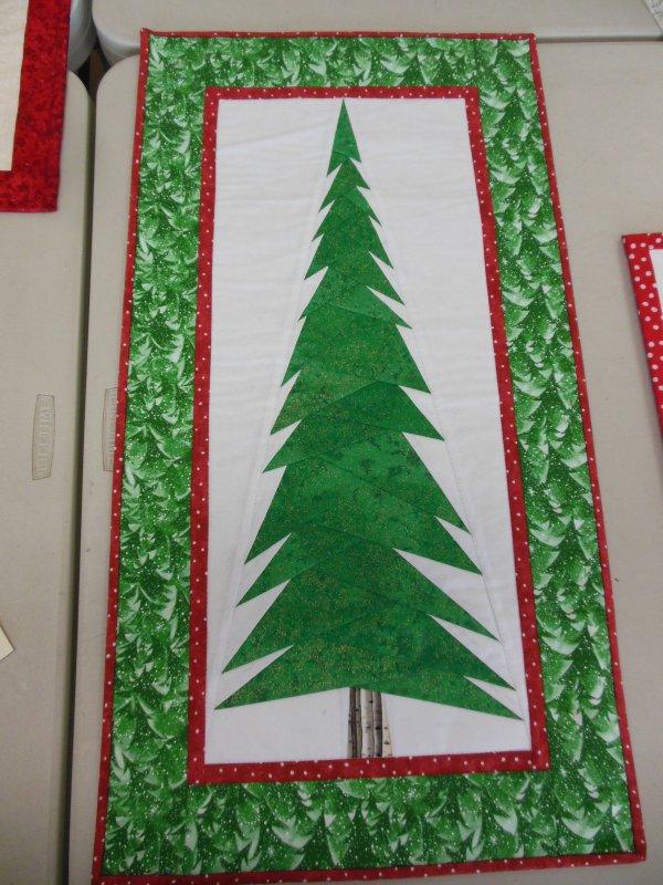 Paper Pieced Christmas Tree